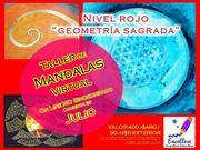Taller de Mandalas - Nivel Rojo - Inicia el 11 julio