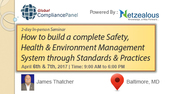 How to build a complete Safety, Health & Environment Management System through Standards & Practices 2017