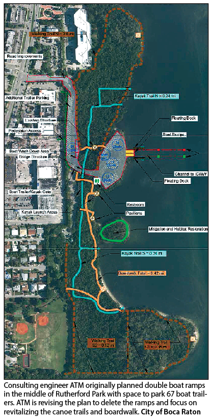 Boca Raton: Rutherford boat ramps out, canoe trails in - The Coastal