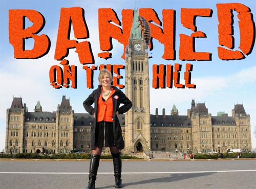 FRanke James Banned on The Hill and in Europe