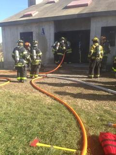 Firefighters Conduct Live Burn Training - Allamuchy Fire