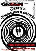 VINYL UNDERGROUND - Friday Oct 5th 2012 at The Green Room, Torquay