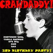 Crawdaddy! Third Birthday Party