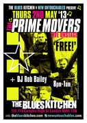 PRIME MOVERS LIVE IN LONDON