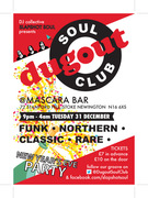 DUGOUT SOUL CLUB NEW YEAR'S EVE PARTY