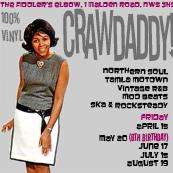 Crawdaddy! with guest DJ Debbie Smith (The Nitty Gritty)