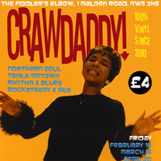 Crawdaddy! with guest DJ Jim Watson (Soul on the Square)