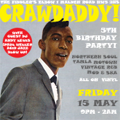 Crawdaddy! 5th Birthday Party with guest DJ Andy Lewis