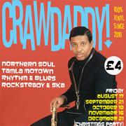 Crawdaddy! with guest DJ Ian Jackson