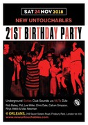 NEW UNTOUCHABLES 21st ANNIVERSARY PARTY