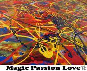 Magic Passion Love - Joanne Morton Paintings