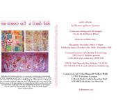ice cream art | a fresh look, solo show kellyann gilson lyman