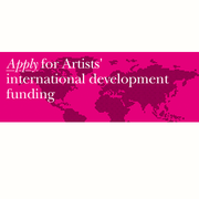 Arts Council England - Artists' international development fund