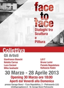 "Exhibition ""face to face"""