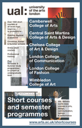 University of the Arts London Short Courses