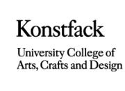 Konstfack University College of Arts, Crafts and Design | Degree Exhibition 2013, Stockholm
