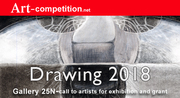 "Open For Entries ""Drawing 2018 "" 20 Artists Group Exhibition & Grant Opportunity at Gallery 25N"
