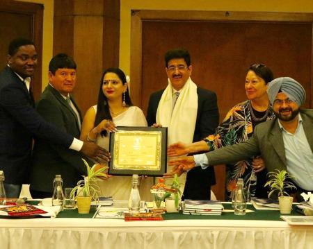 International Green Ambassador Award For Sandeep Marwah
