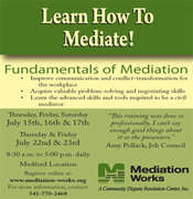 Learn How to Mediate: Fundamentals of Mediation