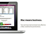 Your business on a Mac: The Mac advantage for small business.
