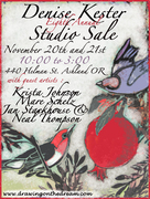 8th Annual Art Sale hosted by Denise Kester and local artists