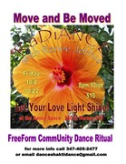 RaDiANCE Free Form Community Dance Gathering