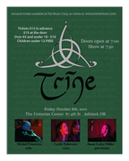 Trine at the Unitarian Center