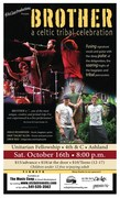 BROTHER, Celtic Tribal Trio, Concert