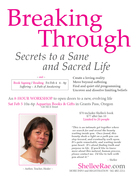 Breaking Through ~ Secrets to a Sane and Sacred Life