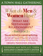 What Do Men & Women Have? Sustainable Relationships (Part 1 of 2)