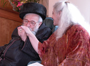 Purim for Grown-Ups, a Weekend with Reb Zalman Schachter-Shalomi and Eve Ilsen