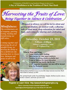 Harvesting the Fruits of Love: A Day of Mindfulness in the Tradition of Thich Nhat Hanh