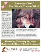 Lonesome Wolf: The Life and Times of OR-7