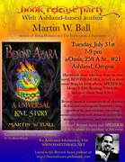 Book Release Party with author, Martin Ball