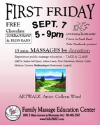First Friday September 7th!