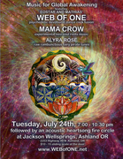Eostar & Mathias Web of One Live in Concert with Mama Crow & Alyra Rose