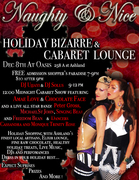 Naughty & Nice Holiday Bizarre and Cabaret Lounge