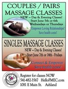 Couples/Pairs Massage Class Weekend