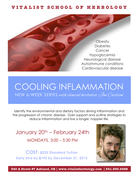 Cooling Inflammation - THROUGH FEBRUARY 24th