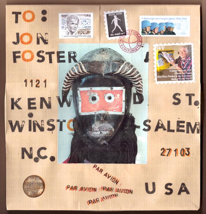 to Jon Foster, enveloppe