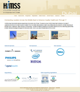 HIMSS Middle East Conference, the Health IT Leadership Summit and the Health Insurers Innovation Forum