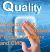 Seminar on Verification vs. Validation - Product Process Software and QMS at Las Vegas, NV