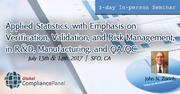 Statistical Process Control -Verification, Validation, Risk Management, Manufacturing, and QA/QC 2017