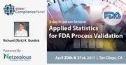 Applied Statistics for FDA Process Validation 2017