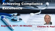 Achieving Compliance Excellence - 2017