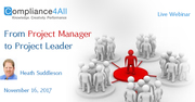 It is not enough to Simply be a Project Manager