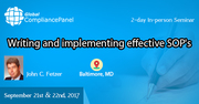 Writing and implementing effective SOP 2017