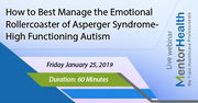 How to Best Manage the Emotional Rollercoaster of Asperger Syndrome-High Functioning Autism