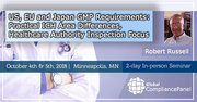US, EU and Japan GMP Requirements: Practical ICH Area Differences, Healthcare Authority Inspection Focus