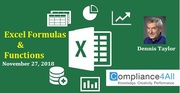 Latest Excel Formulas and Functions in [2018-19]